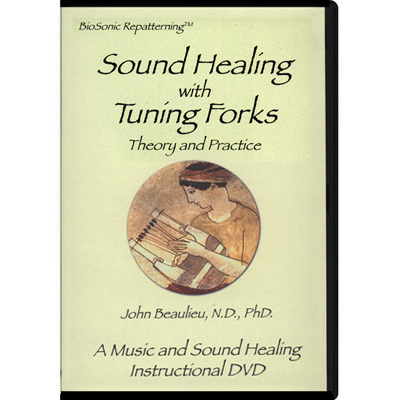 "DVD Lehrfilm - ""Sound Healing with Tuning Forks"" - Beaulieu"
